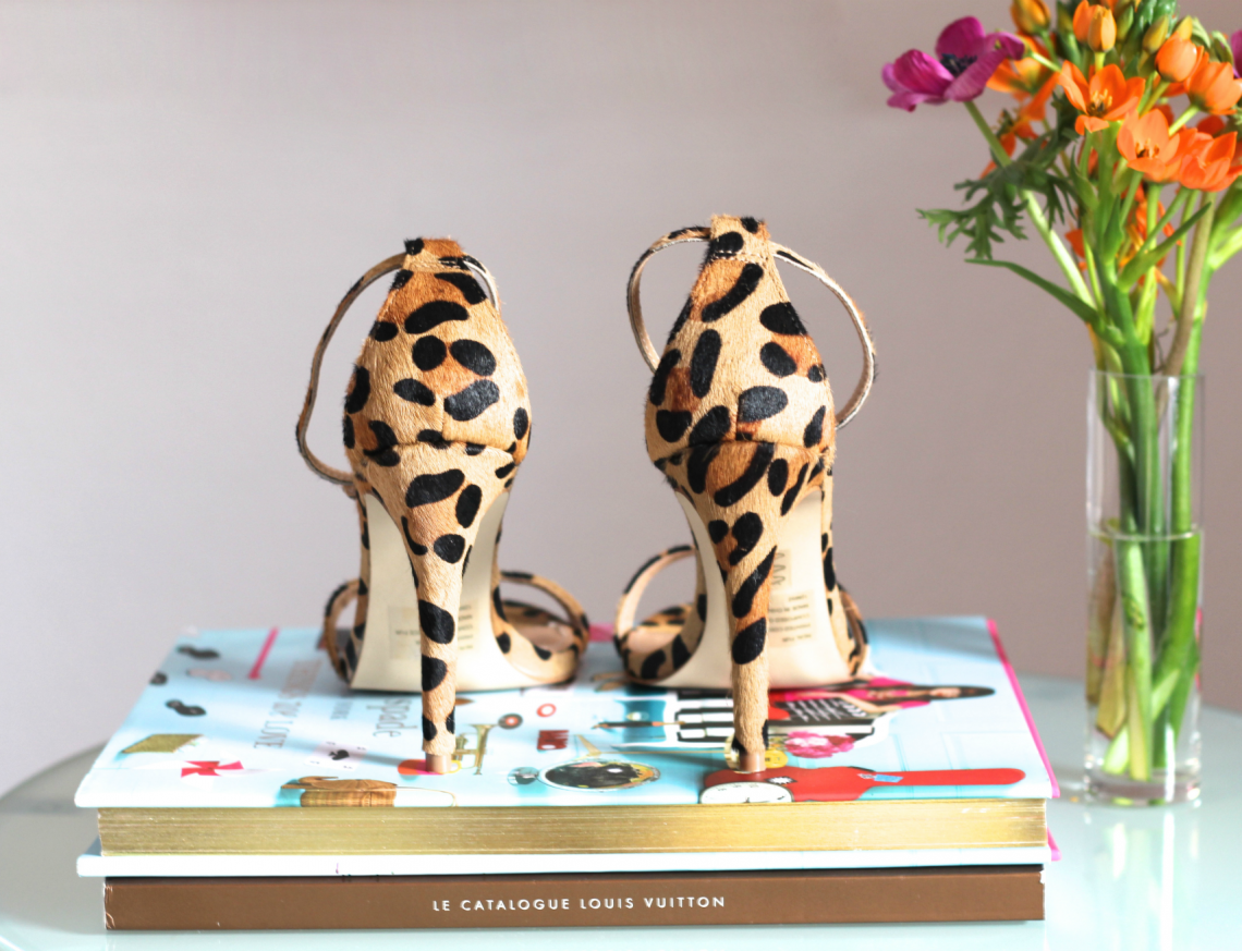 separation shoes e6c80 fc3da Leopard High Heels: Steve Madden STECY - Halfie's Style