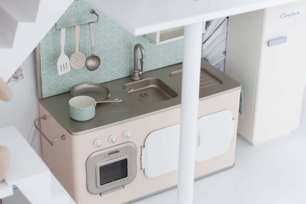 DIY Pimp My Maileg Puppenhaus_Maileg Küche