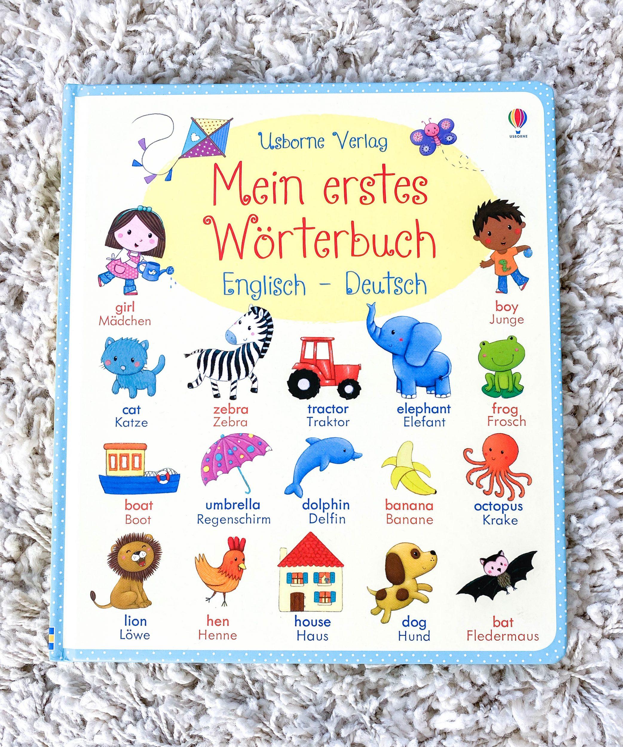 Mein erstes Wörterbuch Englisch - Deutsch