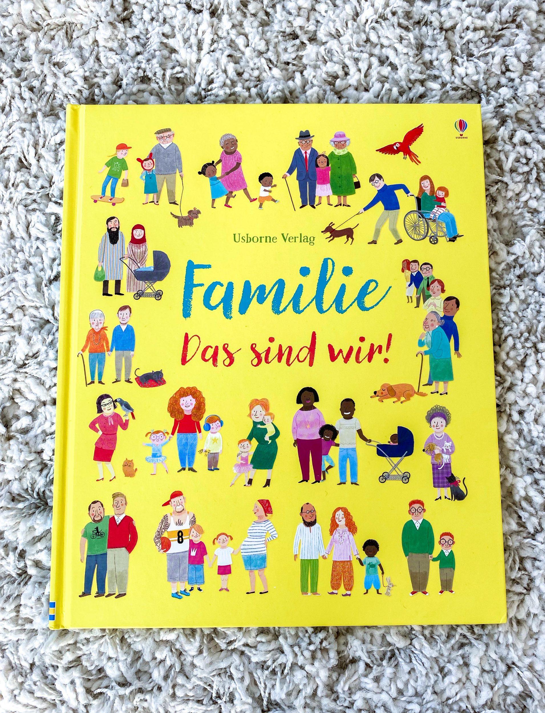 Familie  - Das sind wir! Felicity Brooks und Mar Ferrero